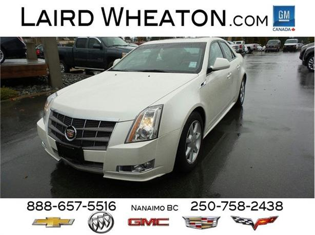 2011 Cadillac CTS Sedan Premium All Wheel Drive, One Owner