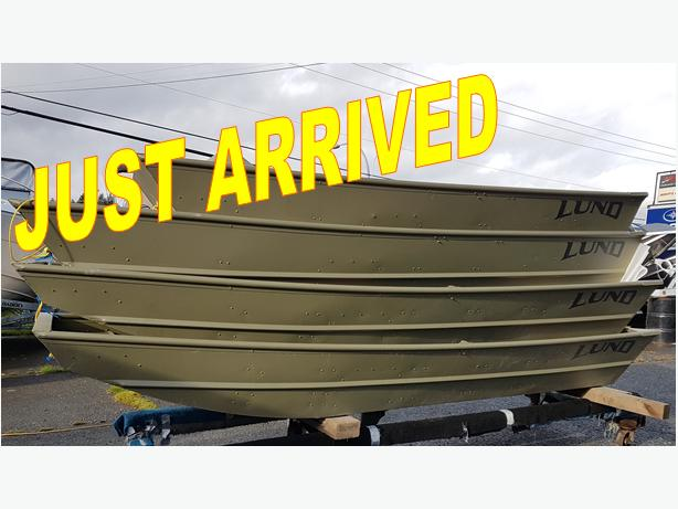 2018 Lund Jon Boat Are Here!!!