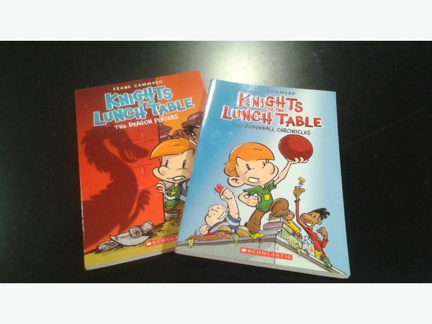 Graphic novels - Knights of the Lunch Table