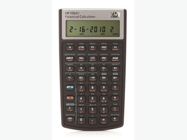 HP Financial Calculator 10bII+ BNIB