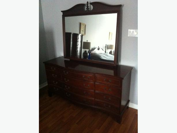 Cherrywood bedroom set - 7 piece set