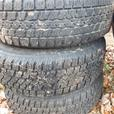 ----FOR SALE   STUDDED WINTER TIRES
