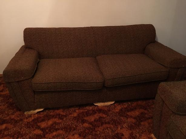 Couch with 2 Chairs