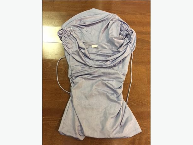 fe8f6e0f58391 Suzy Shier blue going out shirt. Small. Qualicum