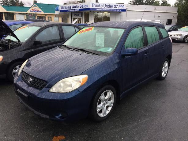 2006 Toyota Matrix XR Front Drive Auto Williams Colwood -NEW LOCATION NEW PRICE