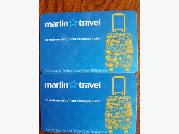 Marlin Travel Gift Certificate