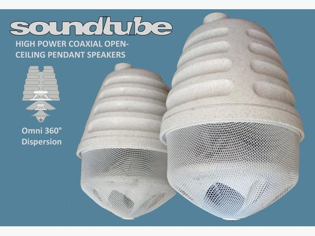 Omnidirectional Commercial Grade Loudspeakers ~ Soundtube RS80