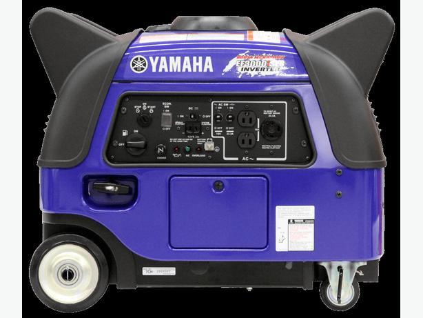 New Yamaha EF3000iSEB Gas Powered Generator