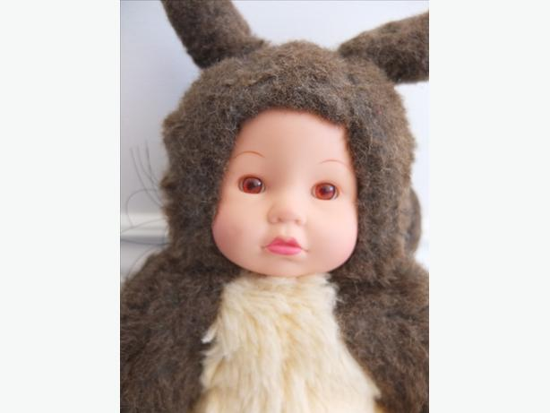 Anne Geddes Amber-Eyed Squirrel Stuffed Animal Soft Toy Baby Doll Cute