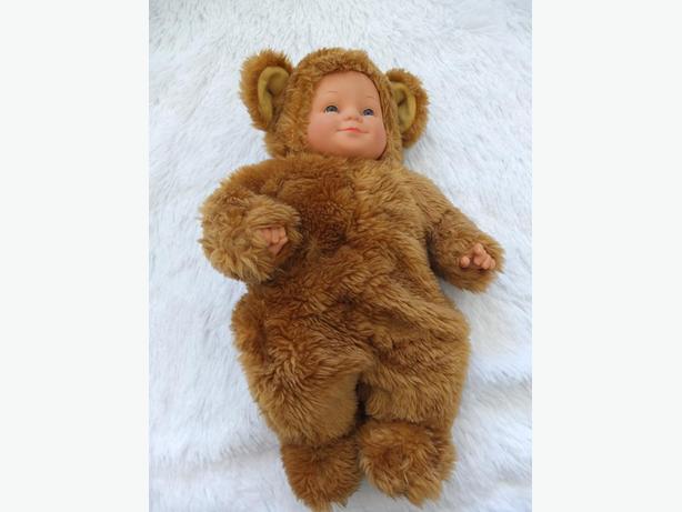Anne Geddes Honey-Coloured Bear Stuffed Animal Soft Toy Baby Doll Cute