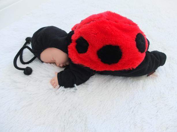 Anne Geddes Ladybug/Ladybird Stuffed Animal Soft Toy Baby Doll Cute