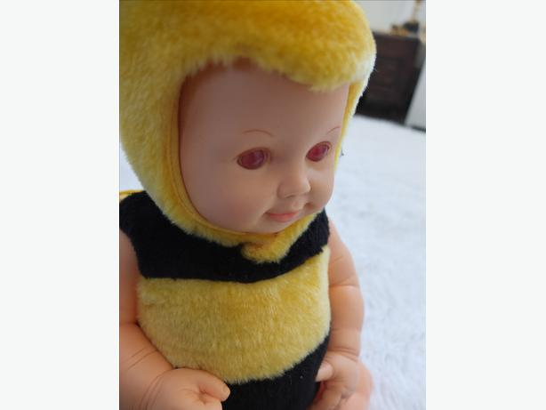 The Adollable Nursery Anne Geddes Bee Stuffed Animal Toy Baby Doll Cute