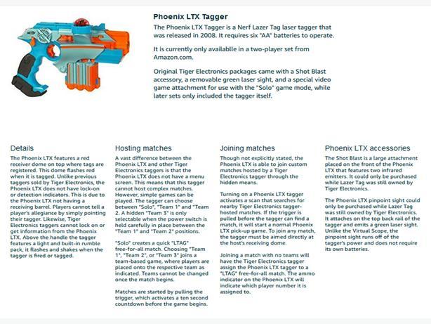 8 Phoenix LTX Lazer Tag + Lazer Swarm Cmd Cntr + rechrg batt