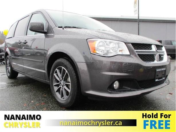 2016 Dodge Grand Caravan SXT Premium Plus One Owner Low Kilometers