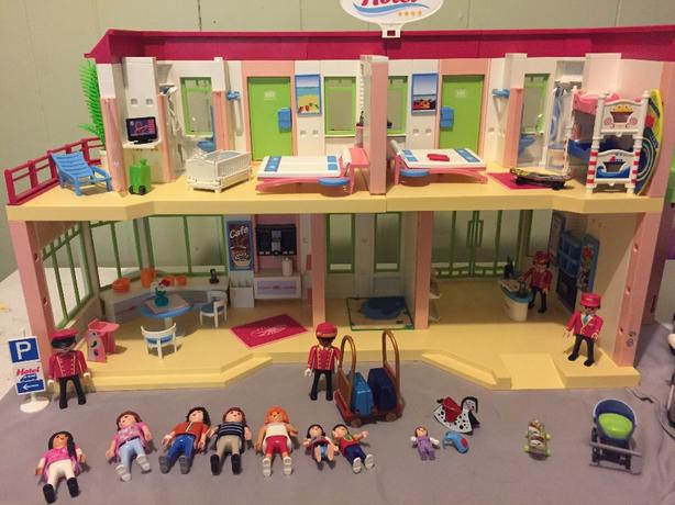 Playmobil Hotel Van Amp Lots Of Extras North Saanich