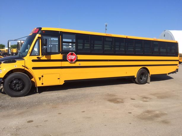 2012  THOMAS 70 PASSENGER SCHOOL BUS
