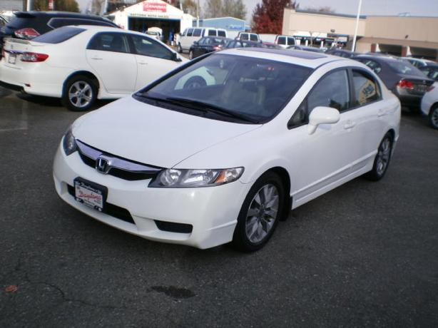 2009 Honda Civic EX-L, leather, sunroof, automatic, sedan,