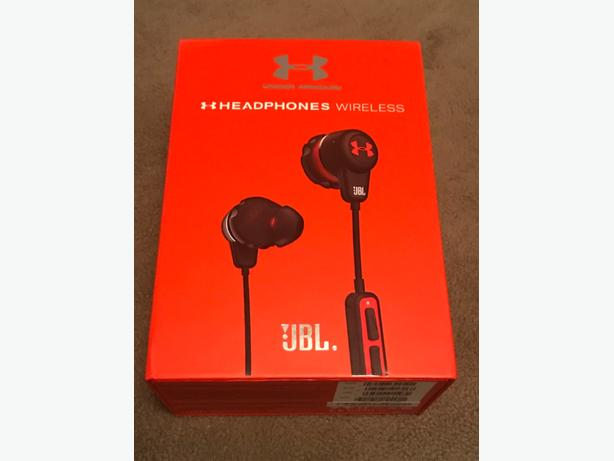 985a6849b54 Jbl X UA Bluetooth wireless headphones Saanich, Victoria