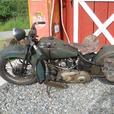 1935 Harley Davidson RL 45 Flathead