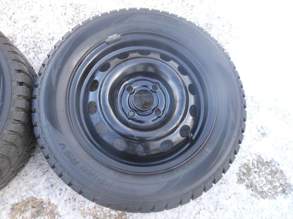 Hankook Ipike Rsv >> P185/60R14 Hankook Winter iPike RSV Tires on Honda Rims ...