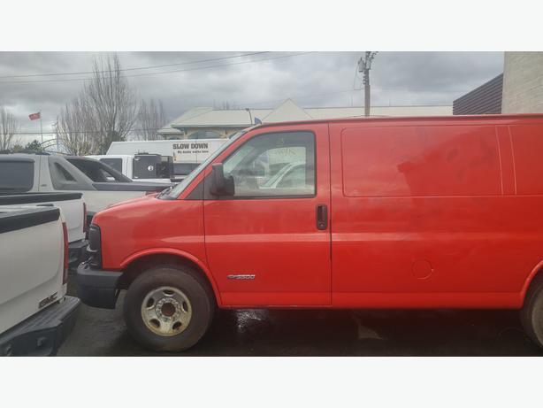 2003 Chevrolet Express G3500 Cargo Van.