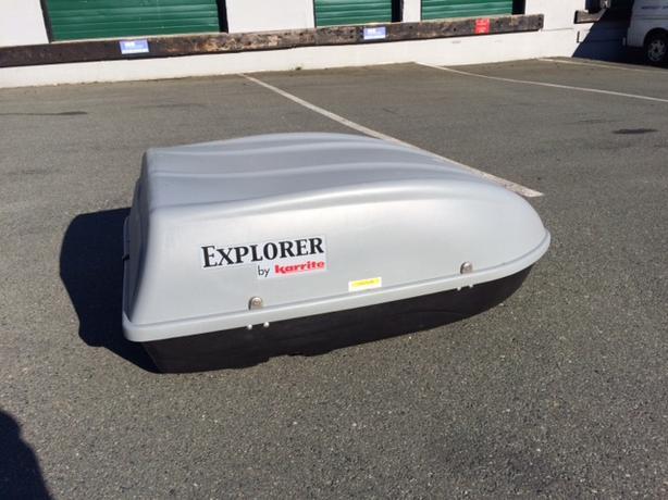 Karrite Explorer Car Top Carrier Shell For Roof Rack