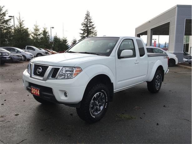 2014 Nissan Frontier Pro4X