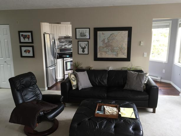 Beautiful 1100 square ft condo to share minutes from UVIC