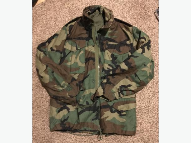 USA camouflage military jacket from the golf war