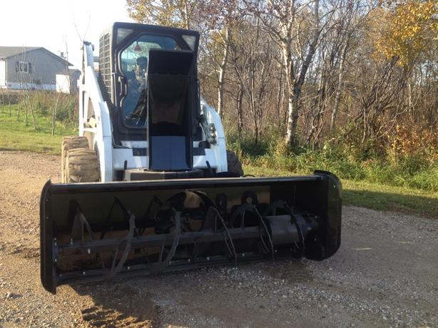 "**NOW ON SALE** 78"" SKID STEER SNOW BLOWER"