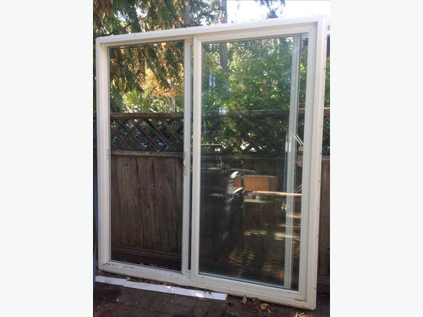 6 ft sliding patio door central saanich victoria for Used patio doors