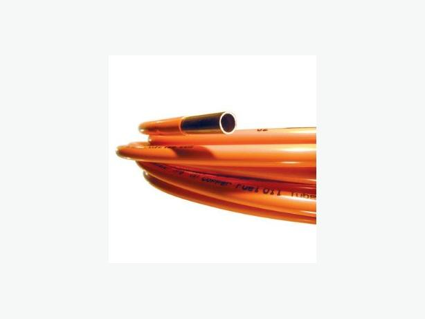 20' & 24' Pieces of Coated Copper Fuel Oil Tubing, $15 per legnth