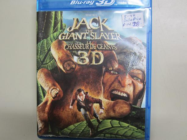 Jack The Giant Slayer 3D Blu-Ray