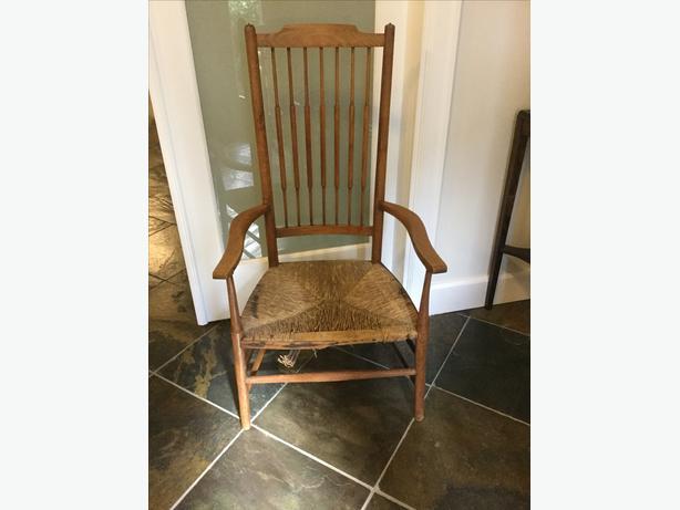 Antique Nursing Chair - Antique Nursing Chair West Shore: Langford,Colwood,Metchosin