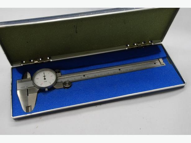 "Kanon 6"" dial caliper like new (Japan)"