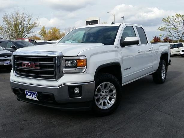 2014 GMC Sierra 1500 5.30 SLE-4X4-BUCKETS-CAMERA-HEATED SEATS -77,007 kms