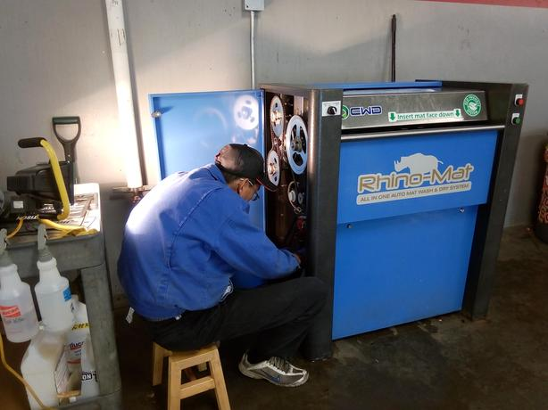 Auto Mat Wash & Dry System, Service and Repair