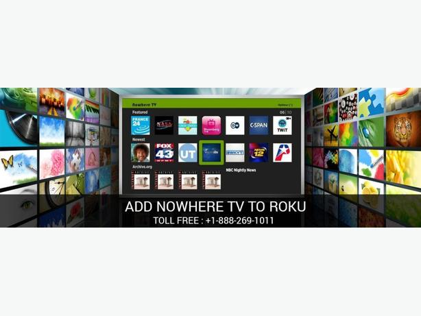 Add And Enjoy Nowhere Tv to Your Roku