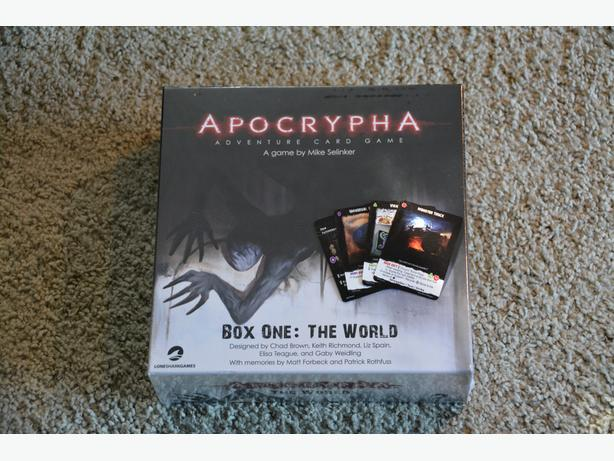 Apocrypha Adventure Card Game - Brand New