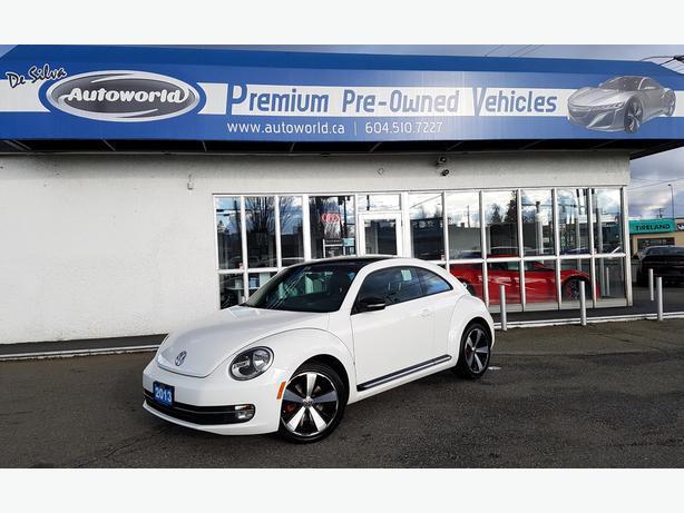 2013 Volkswagen Beetle 2.0L Turbo w/Technology Package