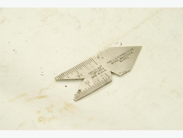 fish tail gauge/centre gauge