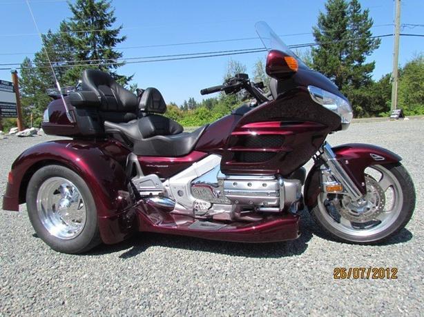 2007 GL 1800 Trike 37,000 km $26,999