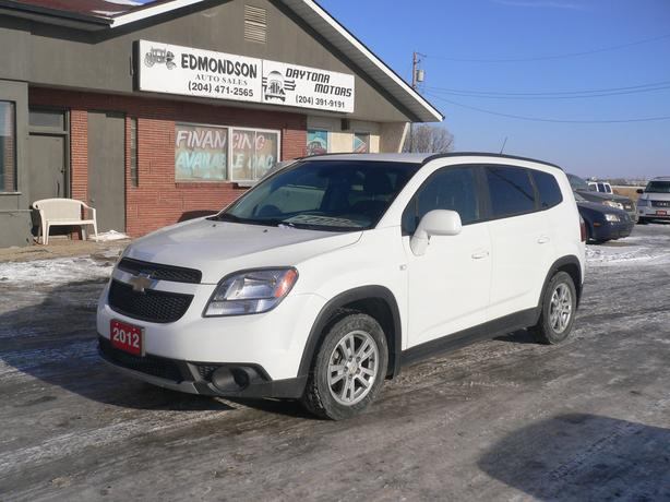2012 Chevrolet Orlando 1LT -  7 passenger wagon