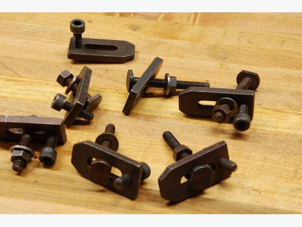 Unimat DB200 clamp set