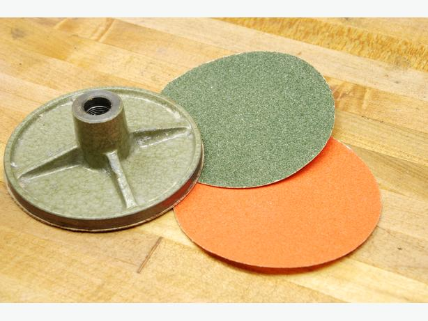Unimat DB200 sanding disk