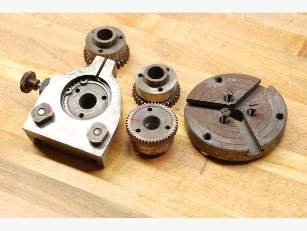 Unimat DB200  dividing head and plates db