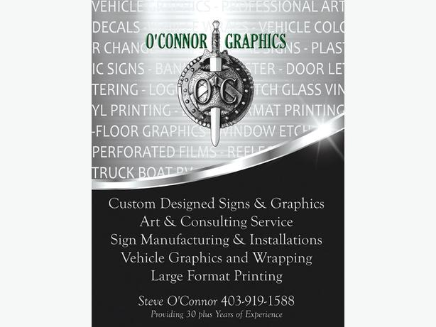 Custom Vinyl Graphics by O'Connor Graphics