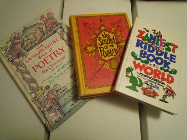 Three Old Children's Hardcover books