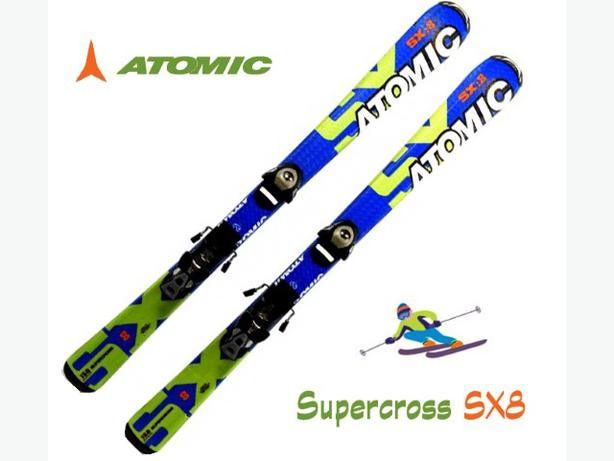 130cm Skis ~ Atomic Supercross