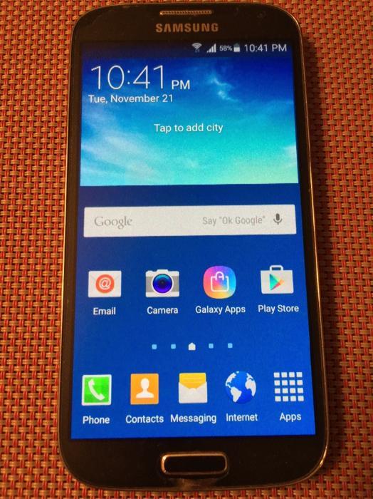 Samsung Galaxy S4 Unlocked Victoria City Victoria